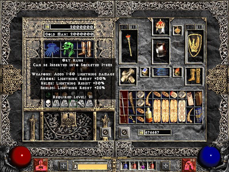 Diablo 2 lod сделать персонажа